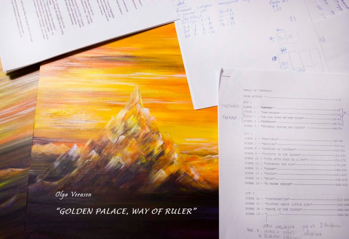 """In January my new book """"Golden Palace. Way of Ruler"""" will be published. Welcome!"""